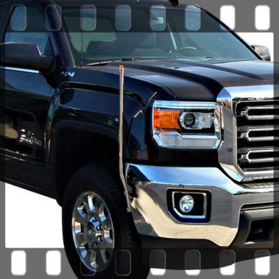 Pickup Truck Bumper Guides