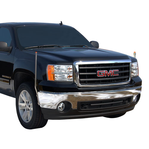 gmc bumper guides 731 310 bores manufacturing inc fits gmc sierra 1500 2007 2013. Black Bedroom Furniture Sets. Home Design Ideas