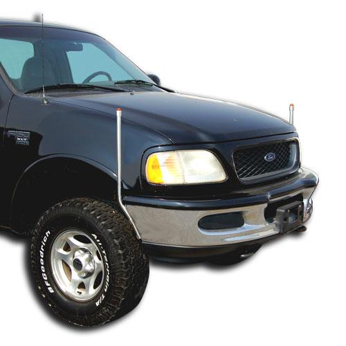 ford bumper guides 728 410 bores manufacturing inc fits Dodge Dakota Bumper ford