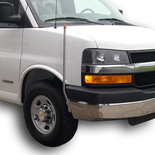 2011 Chevrolet Express 3500 Cargo Interior: Chevy/GMC Bumper Guides (#733-510)