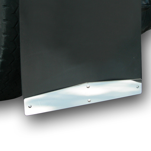 Stainless Steel Mud Flap Accessories