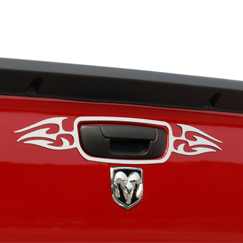 Stainless Steel Tailgate Handle Trim