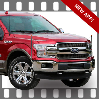 Ford F150 Bumper Guides