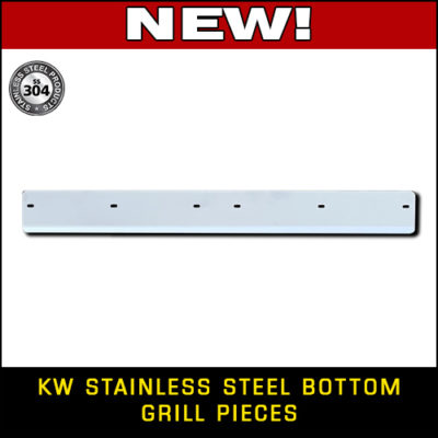 KW Stainless Steel Bottom Grill Extensions