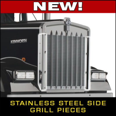 New KW W900L Stainless Steel Grill Pieces!