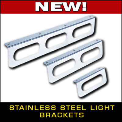 Stainless Steel Oval Light Brackets