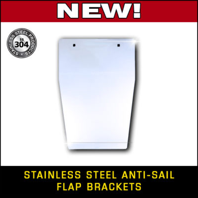 Stainless Steel Anti-Sail Brackets