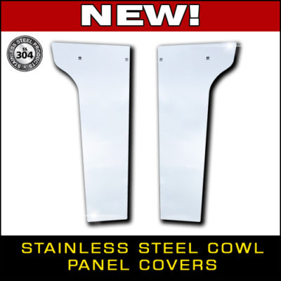 Stainless Steel Cowl Panel Covers