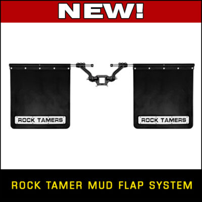 New Rock Tamer Mud Flap System!