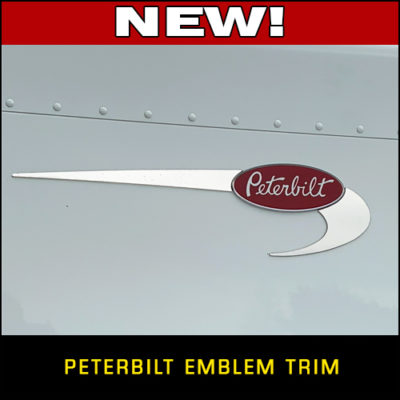New Peterbilt Emblem Trim!